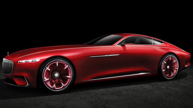 Vision Mercedes-Maybach 6 – Coupe-ul electric al viitorului