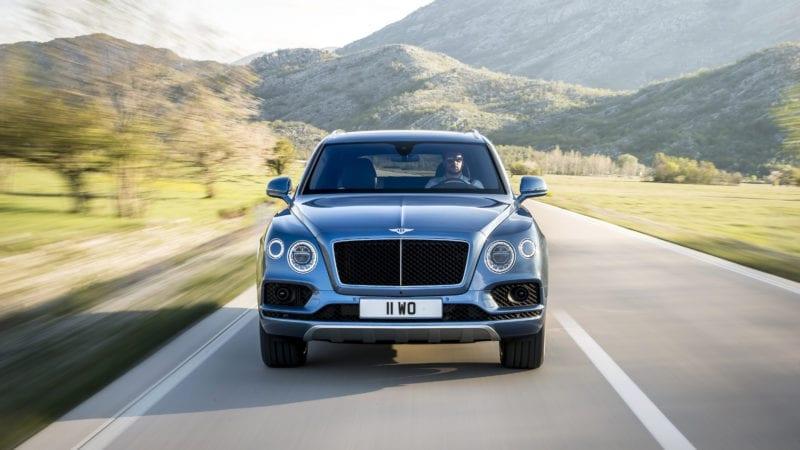 Bentley Bentyga este disponibil și cu un motor diesel
