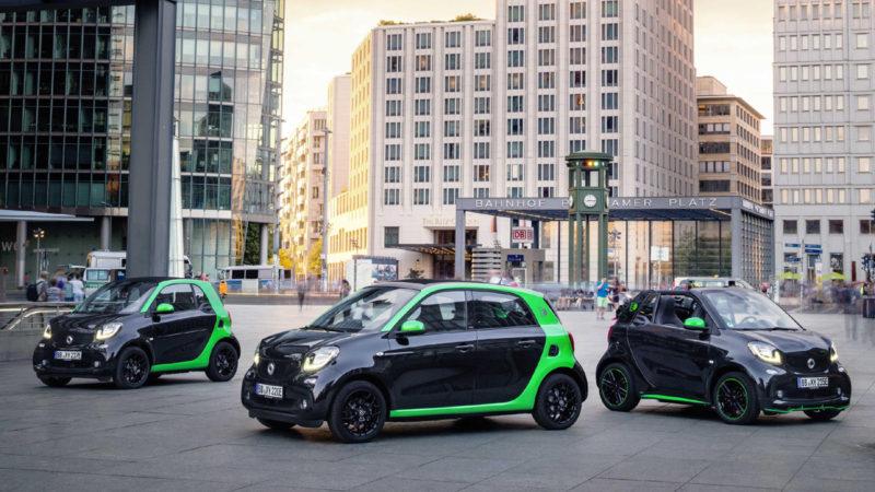 Noile generații smart primesc versiuni electrice