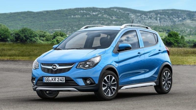 Opel Karl s-a maturizat și a primit hainele Rocks