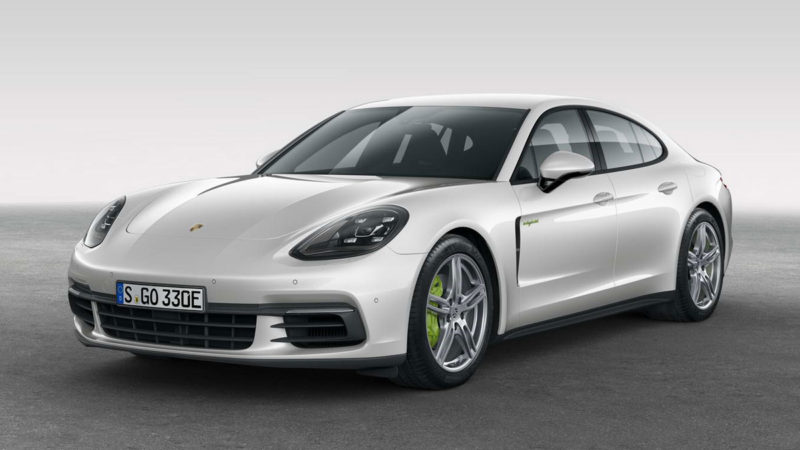 Porsche Panamera 4 E-Hybrid a debutat oficial
