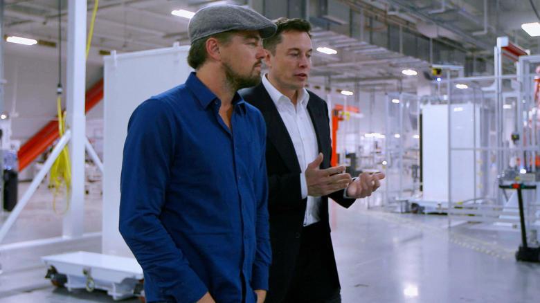 Leonardo DiCaprio și Elon Musk, protagonișii unui documentar despre poluare