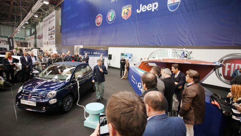 Fiat 500 Riva a fost prezentat în România