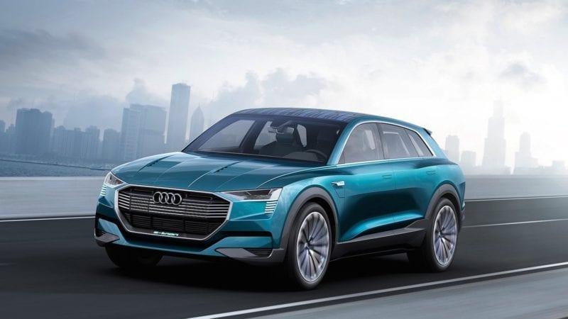 Audi va folosi denumirea e-tron pentru viitoarele modele electrice