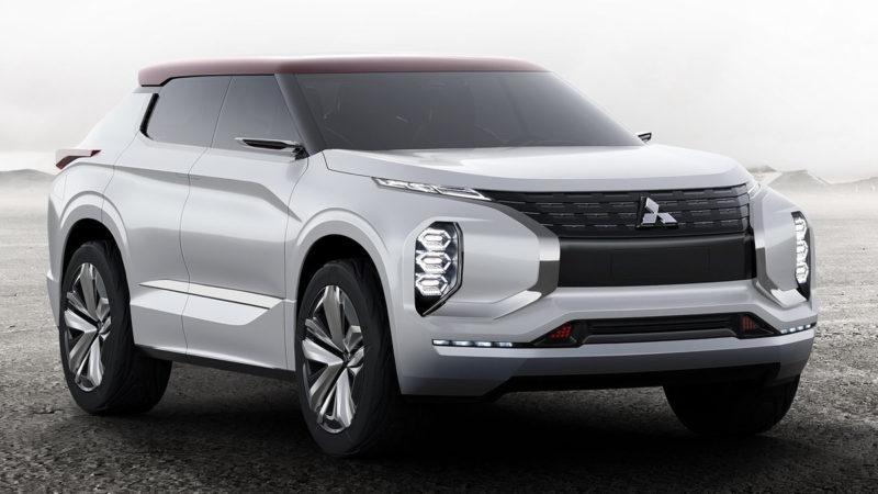 Mitsubishi GT-PHEV a fost prezentat la Paris