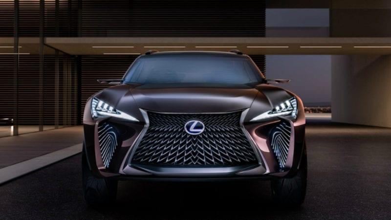 Lexus UX, concept futurist cu tehnologii de top