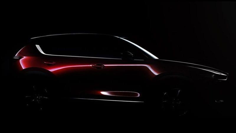 Mazda CX-5 – Prima poză teaser