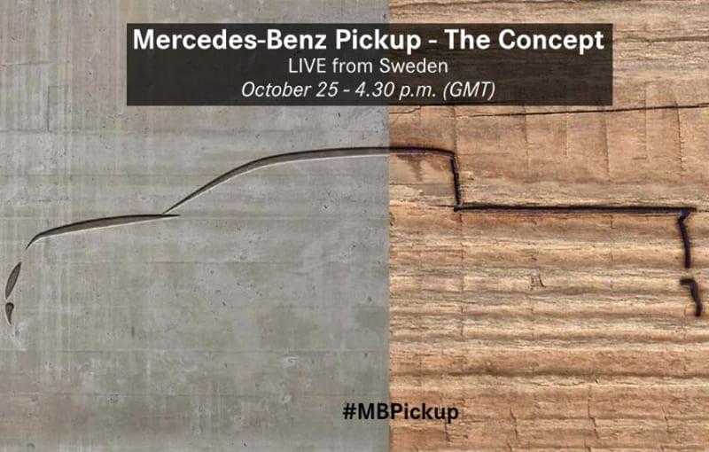 pick-up mercedes-benz