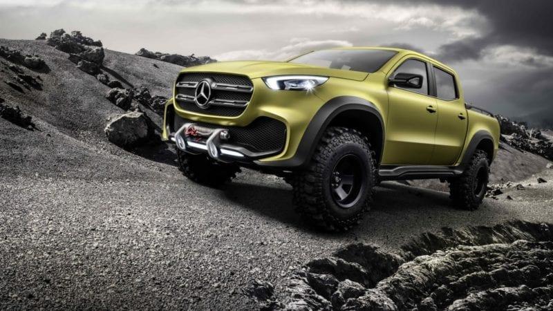 Teaser video cu viitorul Mercedes-Benz Clasa X