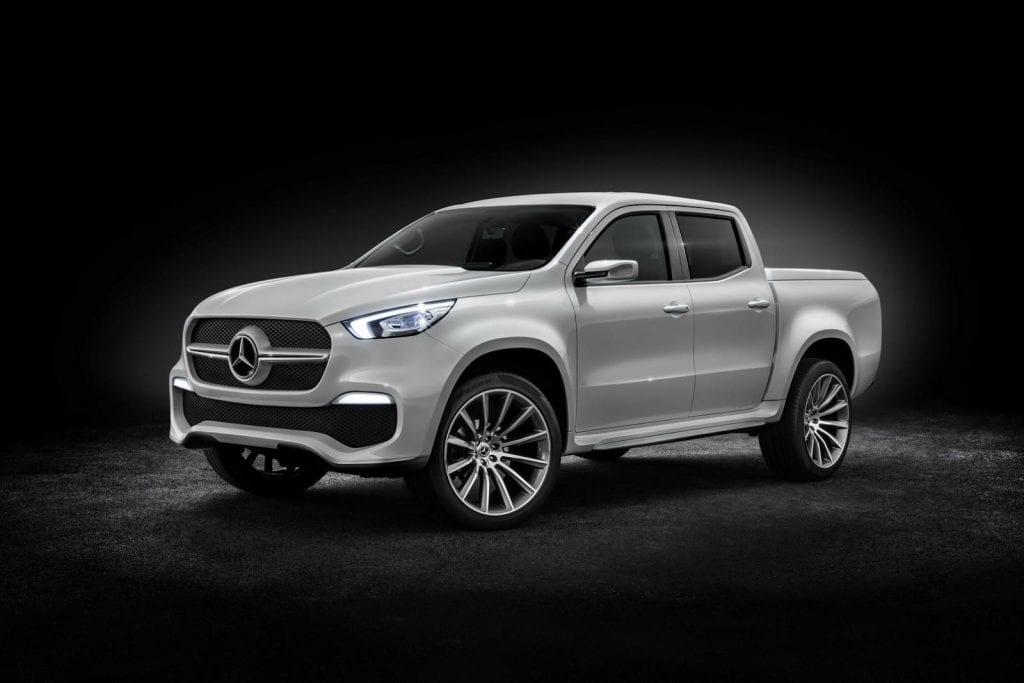 Mercedes benz clasa x concept navara cu miros premium for Mercedes benz 4 x 4