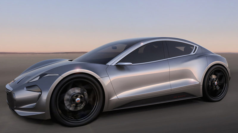 Fisker EMotion EV, un concept pentru un vehicul sport electric