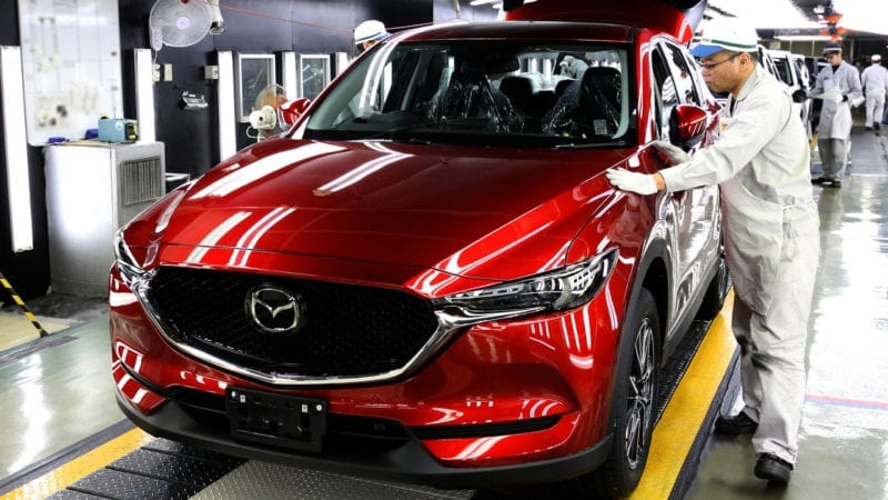Mazda CX-5 a intrat în producție