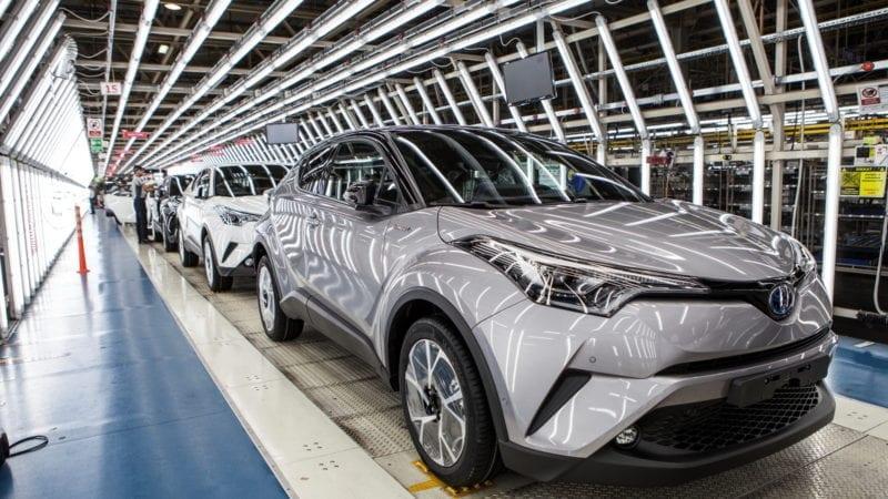 Producţia lui Toyota C-HR a demarat la uzina din Turcia