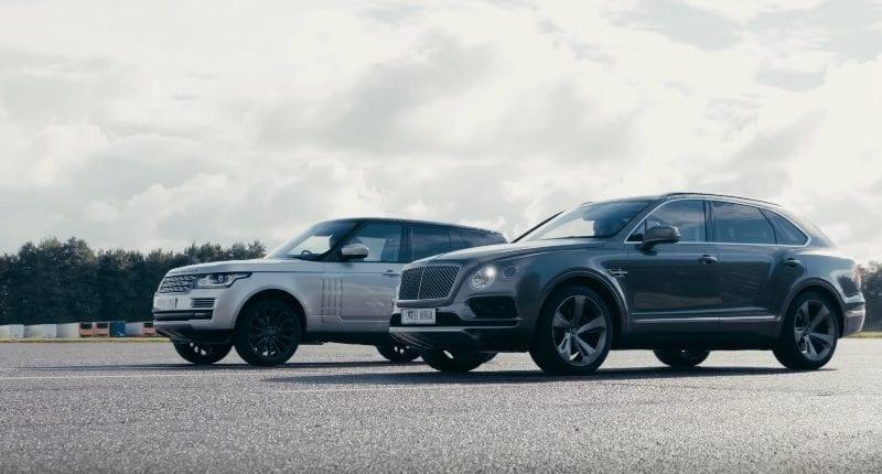 Bentley Bentayga îi arată lui Range Rover SVAutobiography cum stă treaba pe circuit