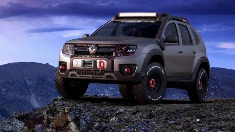 Duster Extreme Concept a debutat în Brazilia