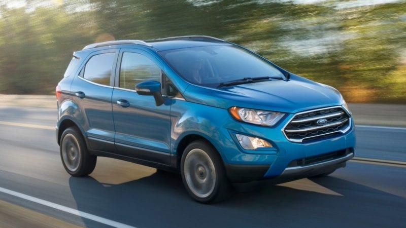 Ford Ecosport facelift a fost prezentat în SUA. Modelul va fi asamblat și la Craiova