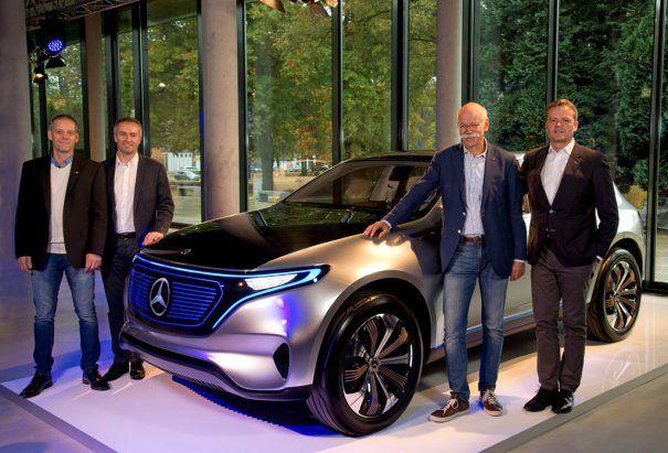 Primul electric Mercedes-Benz va fi produs la uzina din Bremen