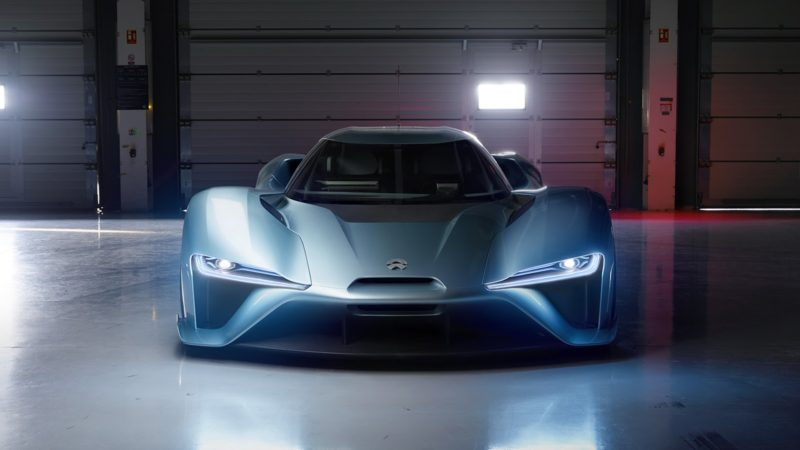 Nio EP9, supercar electric made in China