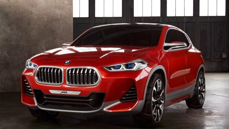 BMW X2 va păstra designul conceptului și va debuta în 2018