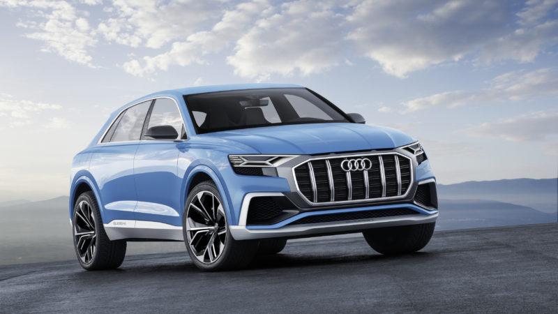 Q8 – Conceptul care anunță primul SUV-coupe Audi