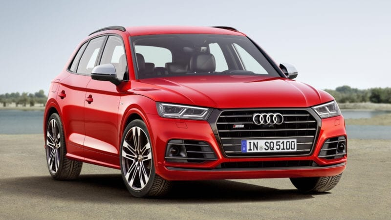 Audi SQ5 are un V6 de 354 de cai