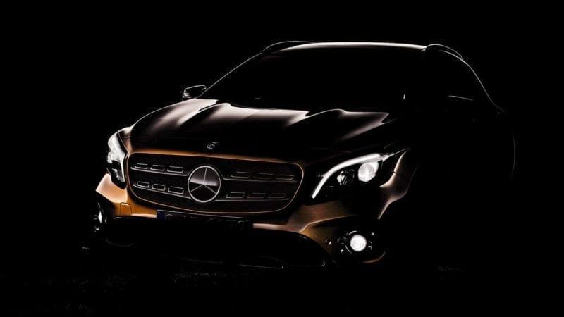 Mercedes-Benz GLA facelift – Prima fotografie teaser