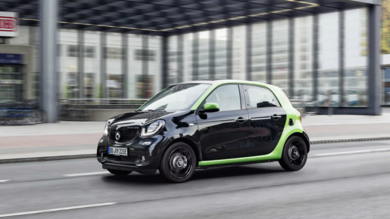 În Europa, Smart va deveni un brand 100% electric