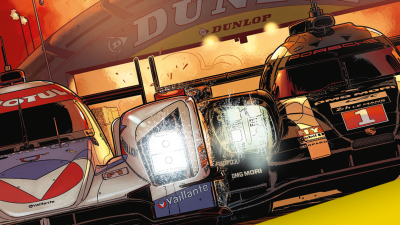 Dunlop devine partener al Michel Vaillant, erou mitic în motorsport