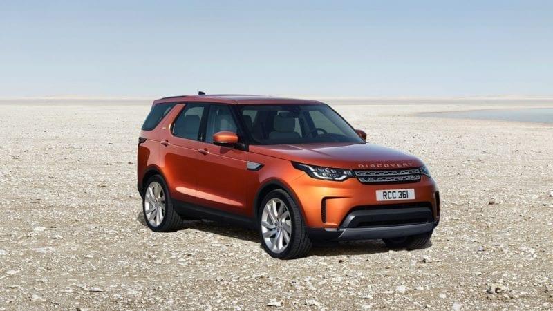 Noul Land Rover Discovery este disponibil și în România