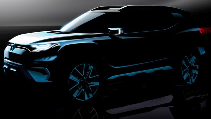 SsangYong XAVL Concept va fi expus în Geneva
