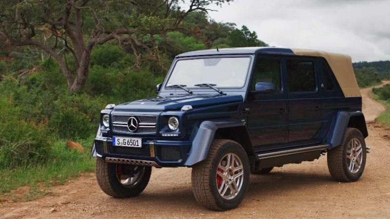 Mercedes-Maybach G650 Landaulet – Primul clip video