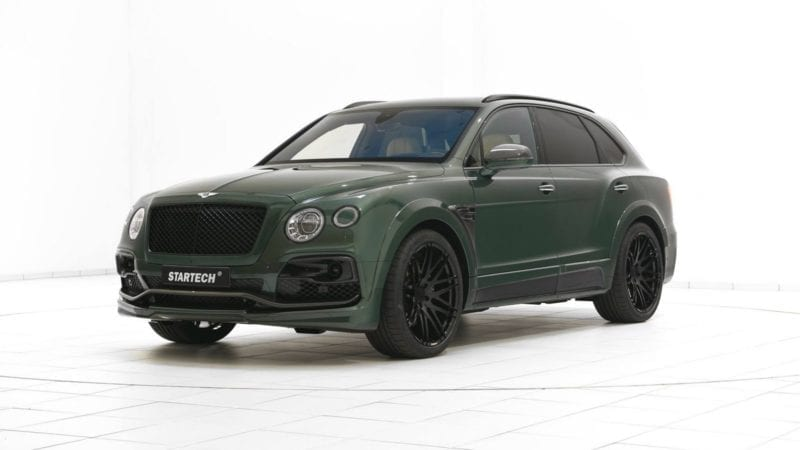 Bentley Bentayga modificat de Startech