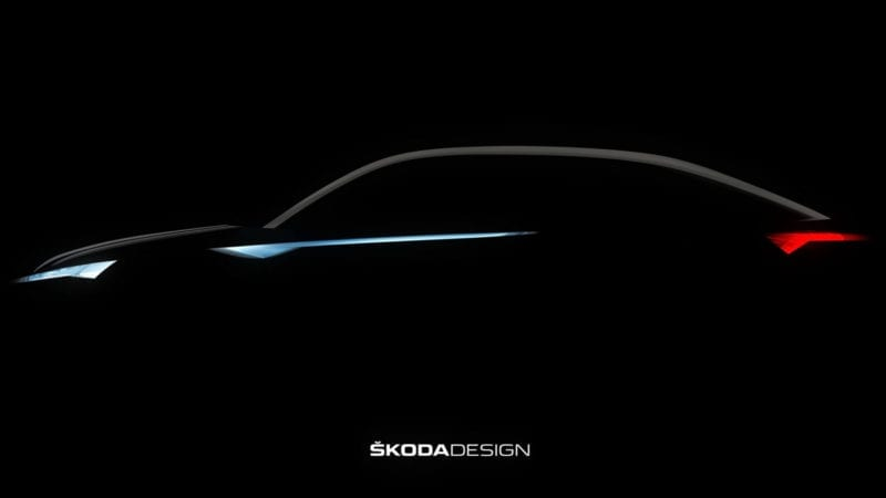 Skoda Kodiaq Coupe – Prima imagine teaser