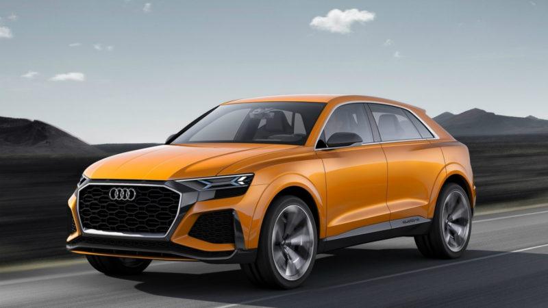 Audi Q8 Sport Concept, hibrid prin definiție