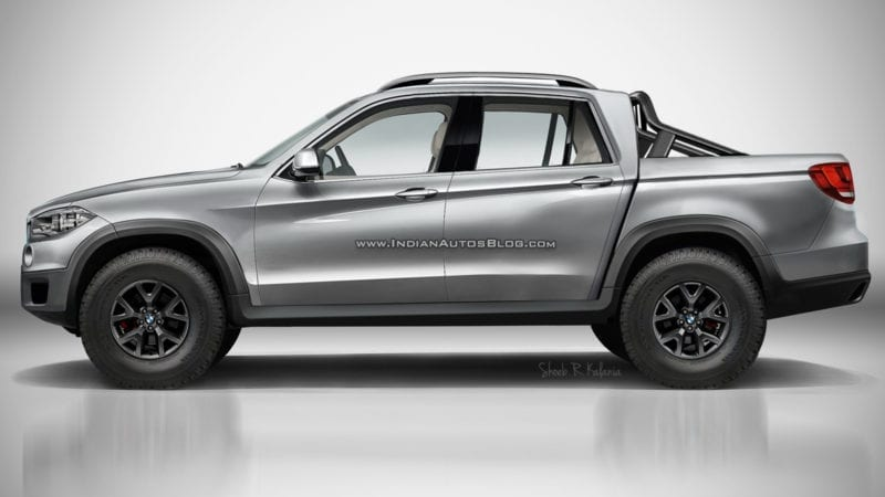 BMW pick-up – O nouă randare