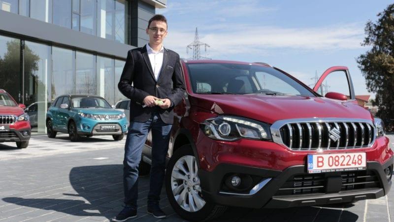 Câștigătorul concursului Alege-ţi destinaţia cu Suzuki SX4 a primit marele premiu