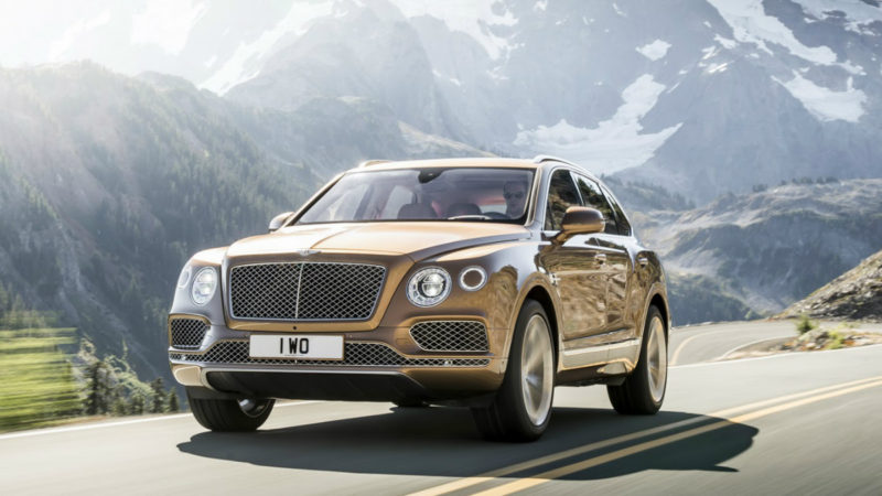 Bentley anunță un viitor SUV electric
