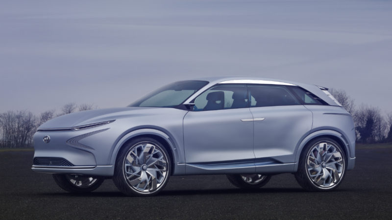 Hyundai FE Fuel Cell – Pile de hidrogen și autonomie de 800 de kilometri