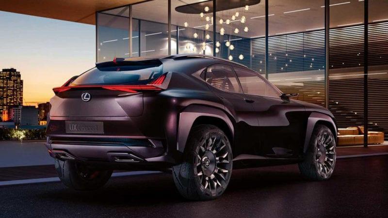 Conceptul Lexus UX va ajunge în producția de serie