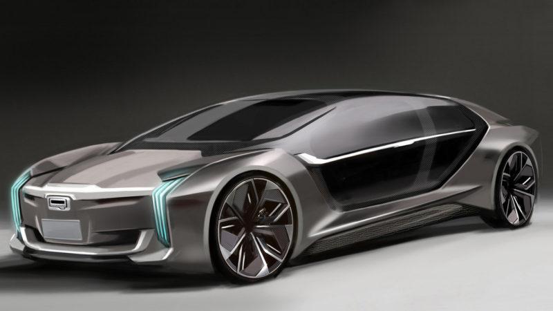 Koenigsegg și Qoros au publicat prima imagine oficială cu conceptul comun