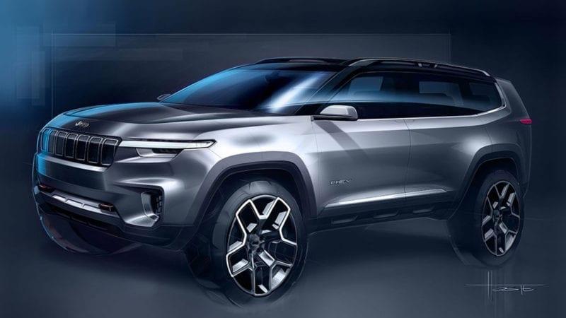 Jeep Yuntu – Crossover cu 7 locuri și abilități în off-road