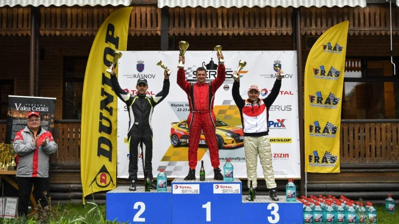 Paul Andronic revine pe podium în CNVC 2017 alături de Repsol