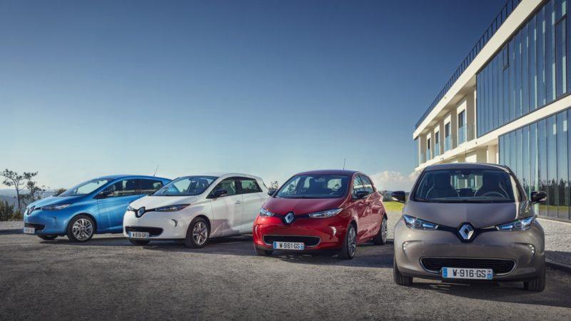 Renault Zoe cu motorul de 110 CP poate fi comandat și în România