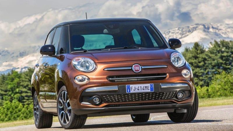 Fiat a prezentat 500L facelift