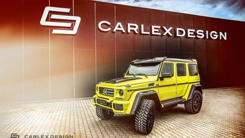 Brabus G500 4×4² a primit un interior semnat de Carlex