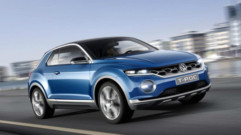 Teaser video cu Volkswagen T-Roc