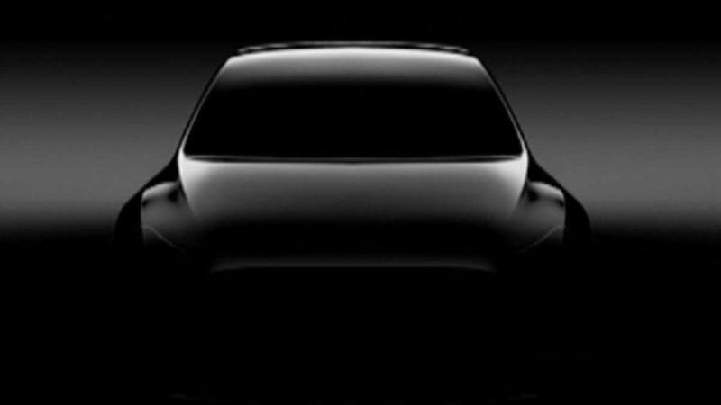 Prima fotografie teaser cu viitorul Tesla Model Y