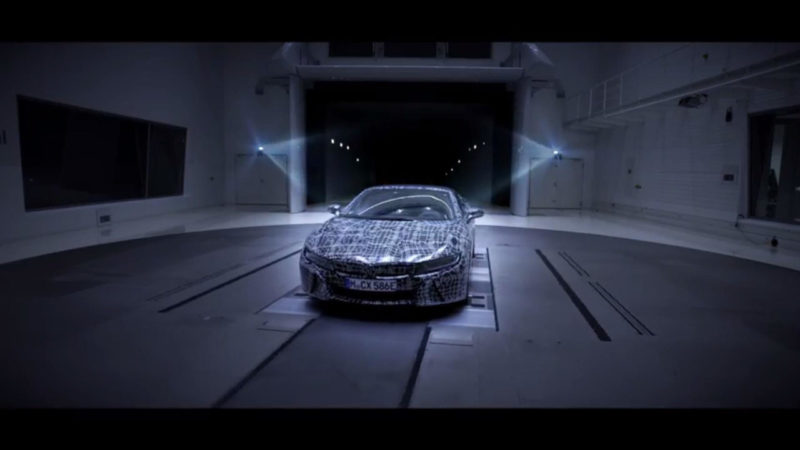 BMW i8 Roadster – Teaser video