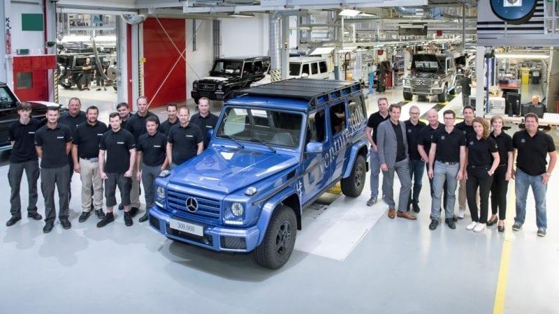 Mercedes-Benz a produs 300 de mii de unități G-Class