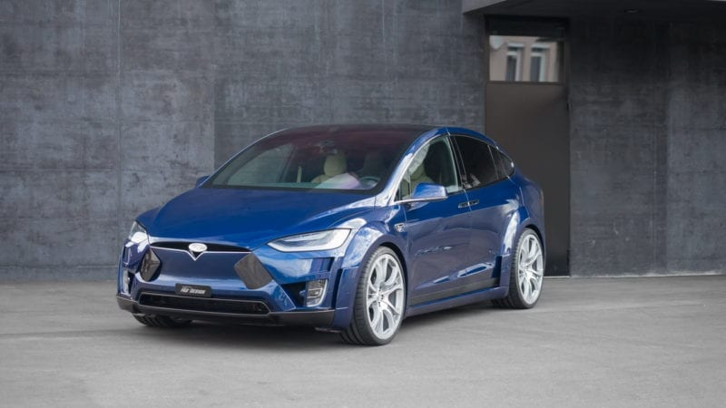 Tesla Model X primește un tuning din partea FAB Design
